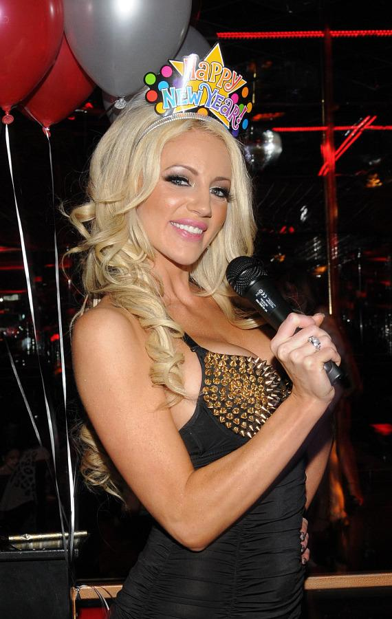 Nicolette Shea counts down final seconds of 2012 at Crazy Horse III