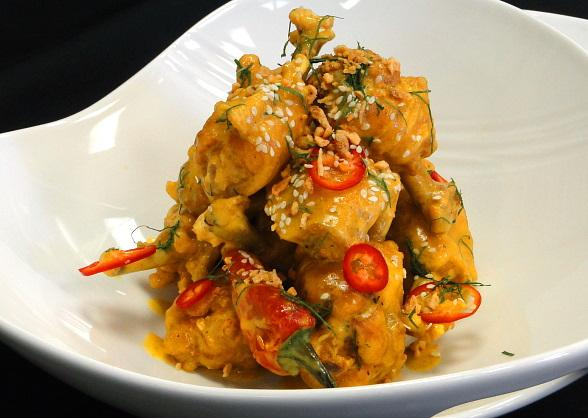 Nu Sanctuary chicken wings with Thai flavors