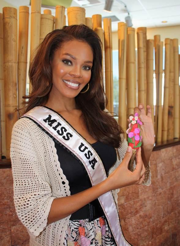 2008 Miss USA Crystle Stewart