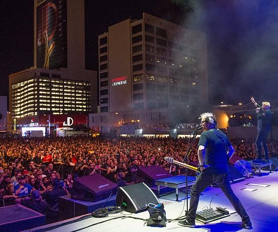 Offspring in concert at DLVEC Las Vegas