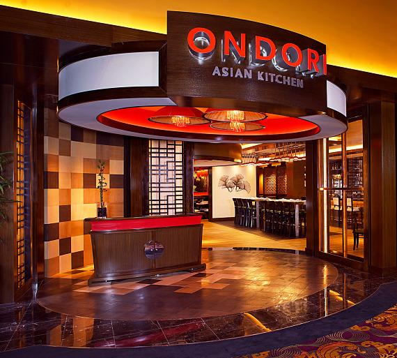 Ondori Asian Kitchen is now open at The Orleans Hotel and Casino in Las Vegas.
