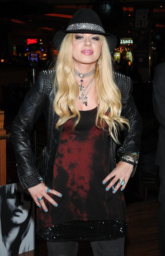 Orianthi honored with Memorabilia Case at Hard Rock Hotel Las Vegas