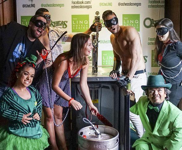 "Celebrates ""The Year of the Leprechaun"" at O'Sheas Casino at The LINQ Hotel & Casino Las Vegas"