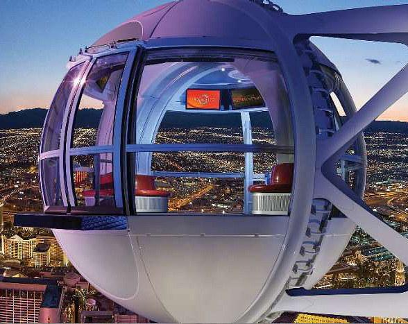 "The Las Vegas High Roller Invites Riders to ""Be Irrational"" on Pi Day"