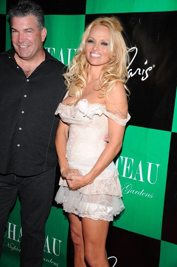 Pamela Anderson celebrates birthday at Chateau Nightclub & Gardens at Paris Las Vegas