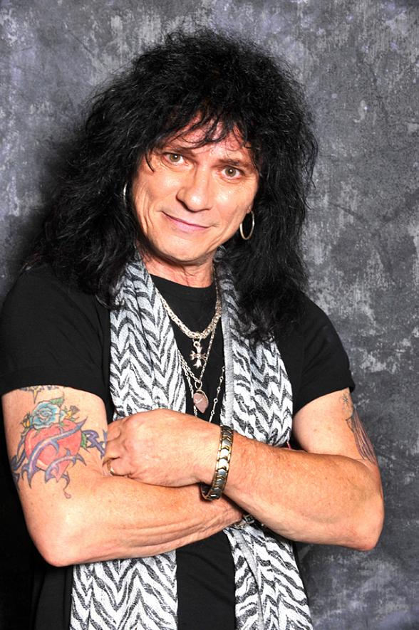 Paul Shortino of Rough Cutt and Quiet Riot
