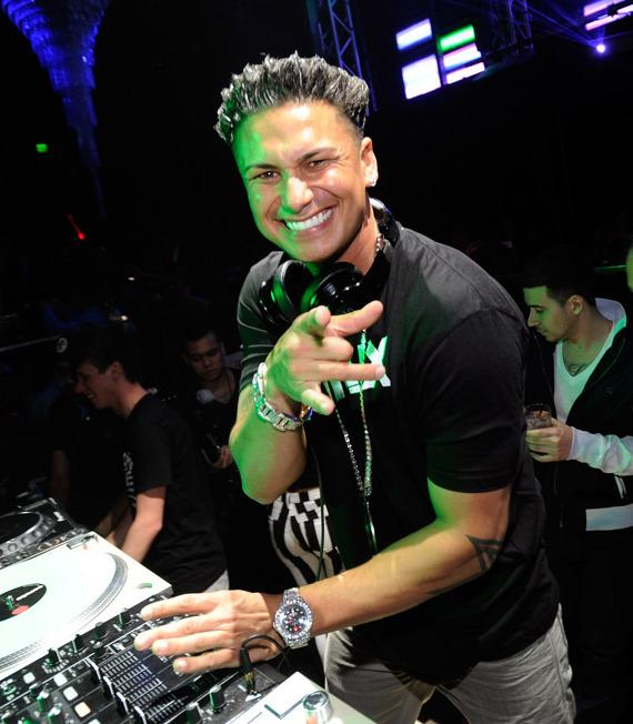 DJ Pauly D spins at Haze Nightclub