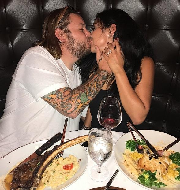 """Pawn Stars'"" Corey Harrison Shares a Romantic Dinner With His Wife at Andiamo Las Vegas"