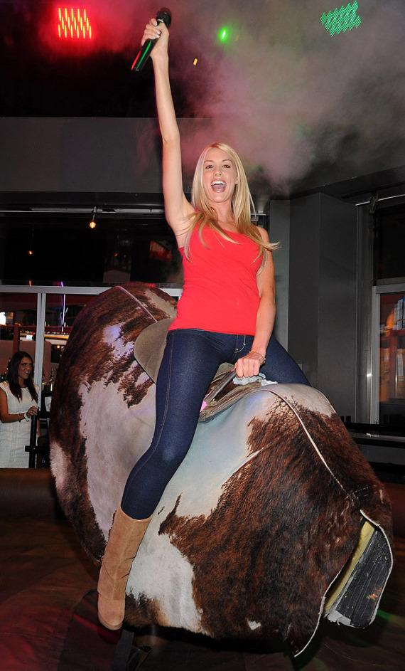 Heather Rae Young at PBR Rock Bar & Grill