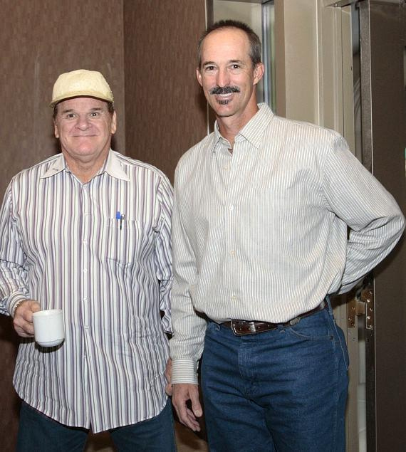Pete Rose and Mike Maddux