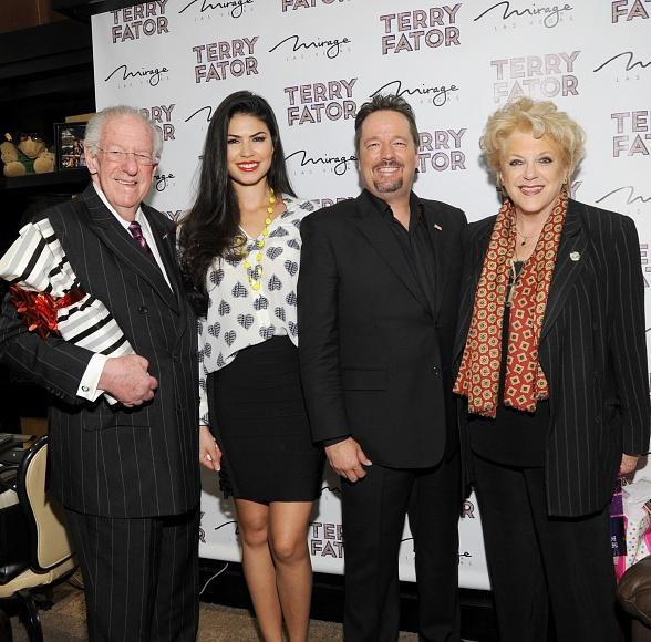 Las Vegas Mayor Carolyn Goodman Celebrates Birthday at Terry Fator: The VOICE of Entertainment