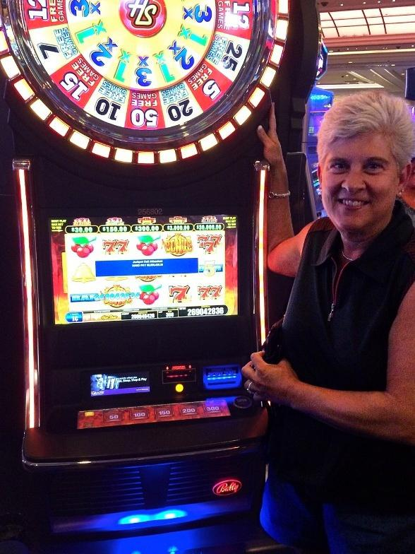 Susan Cupit Hits $2.6 Million Jackpot on Hot Shot Progressive Video Slot at The Palazzo in Las Vegas