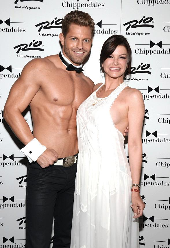 Chef Carla Pellegrino Enjoys Chippendales as Special Guest