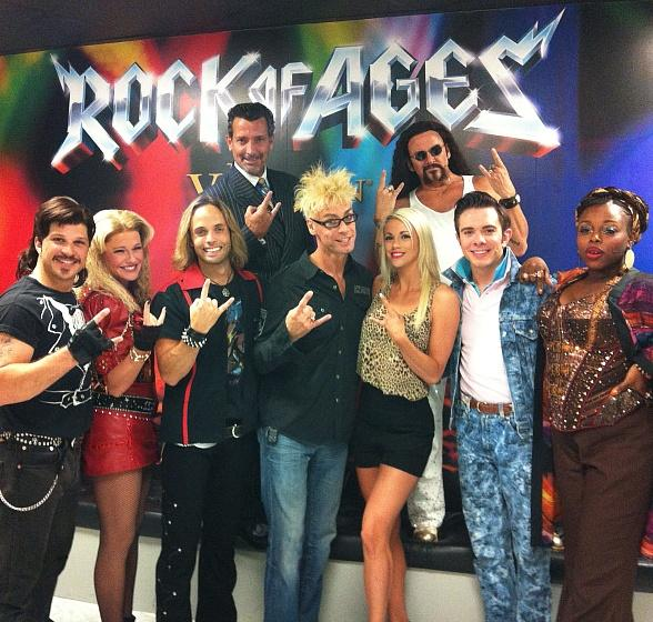 Murray and Chloe Visit Rock of Ages at Venetian Las Vegas