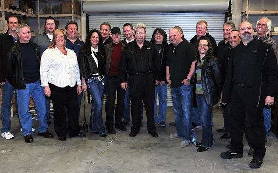 "The ""Old Man"" with Randy Travis and his entourage"