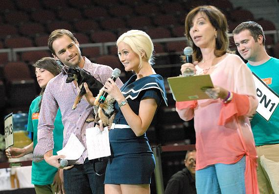 Josh Strickland, Holly Madison and Rita Rudner