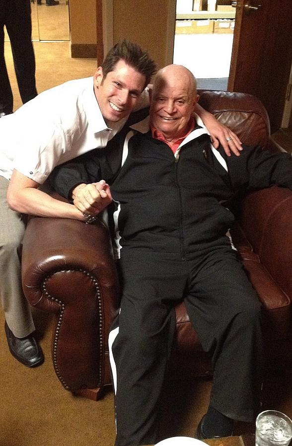 Celebrity Sighting: Comedy Magician Mike Hammer with Don Rickles, Tony Oppedisano and Sonny Turner