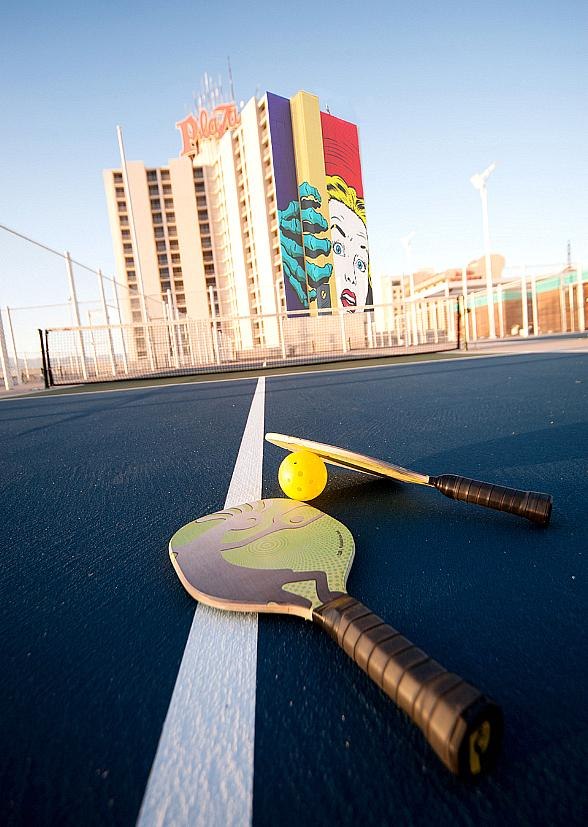 Plaza Hotel & Casino to Hold First Pickleball Mixer on Dec. 7; Free Happy Hour Mixers Offer Beginners Clinics, Drink Specials and Complimentary Food
