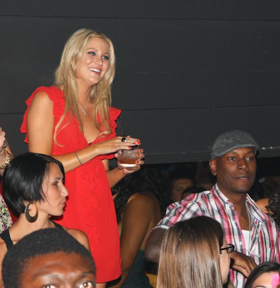 Stephanie Pratt and Tyrese Gibson at Body English