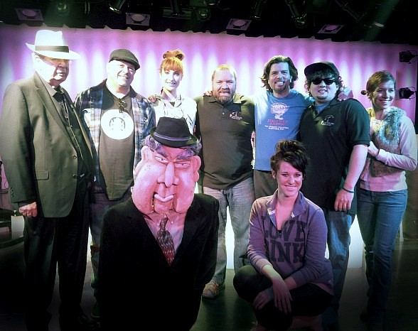 "Rick Harrison and The Old Man of ""Pawn Stars"" Visit Rehearsals for ""Pawn Shop Live!"" at Golden Nugget"