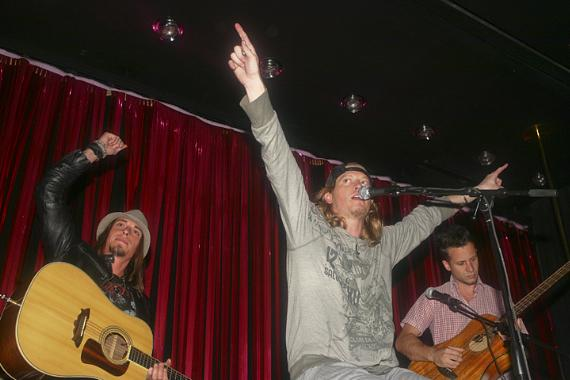 Puddle of Mudd performs in the Pussycat Dolls Lounge at PURE