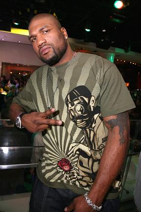 Rampage Jackson at PURE Nightclub in Las Vegas