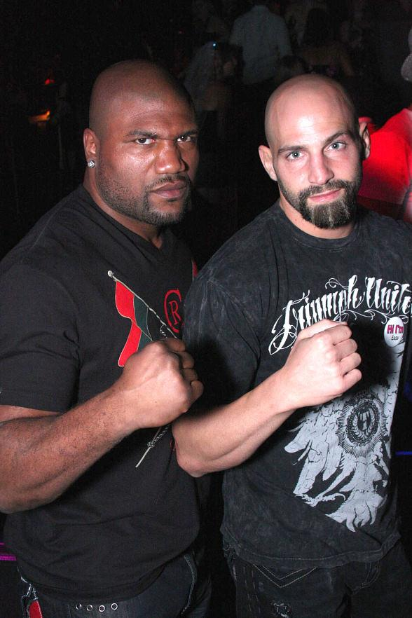 Rampage Jackson and friend