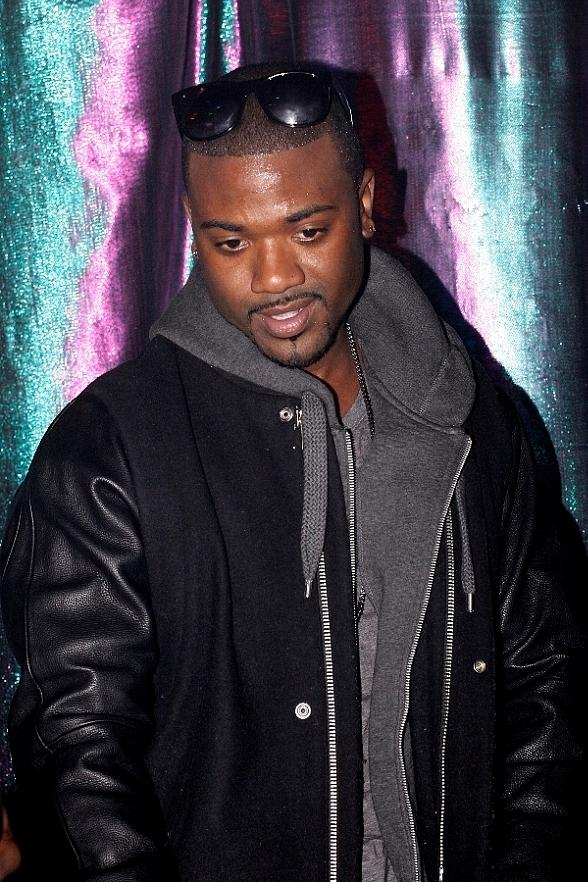 Ray J Parties at Rio's Crown Nightclub