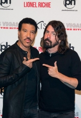 Lionel Richie and Dave Grohl Team Up for SiriusXM Town Hall Event