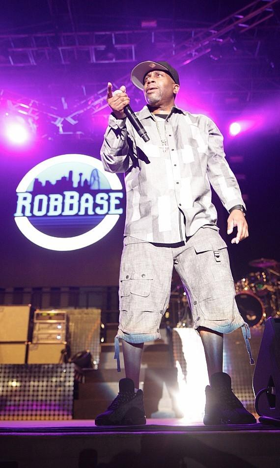 "Rob Base performs at Downtown Las Vegas Events Center for ""I Love The 90s"" concert"