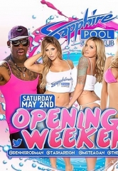 Party with NBA Hall of Famer Dennis Rodman with Exclusive VIP Open Bar Access at Sapphire Pool & Day Club on Saturday, May 2
