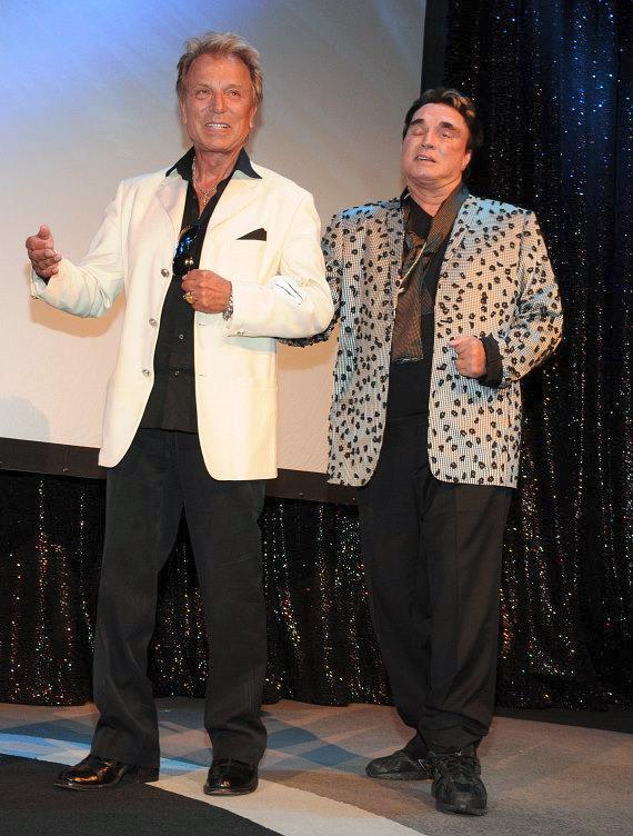 Siegfried & Roy celebrate Roy's birthday at The Mirage
