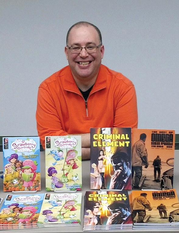 Comic Book Writer Russell Lissau Visits Vegas Aug. 15 to Discuss the Art and Craft of Creating Comics