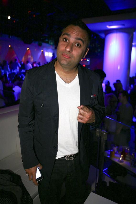 Comedian Russell Peters at PURE (Photo courtesy of PURE Nightclub)