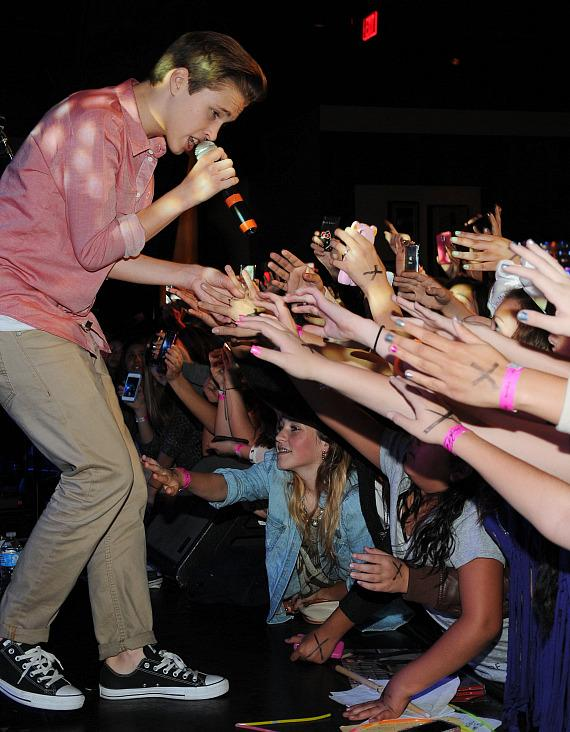 Ryan Beatty performs at Hard Rock Cafe on the Strip
