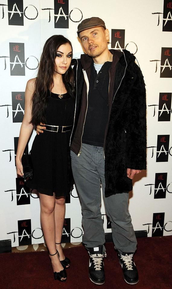 Sasha Grey and Billy Corgan at TAO Las Vegas (Photo credit: Denise Truscello)