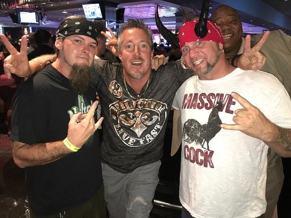 """Counting Cars"" stars Horny Mike and Ryan Evans enjoy a weekend at the D Casino Hotel Las Vegas"