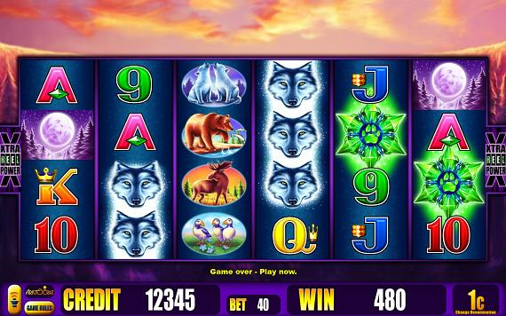 Aristocrat New Video Slot Game: Wolf Moon
