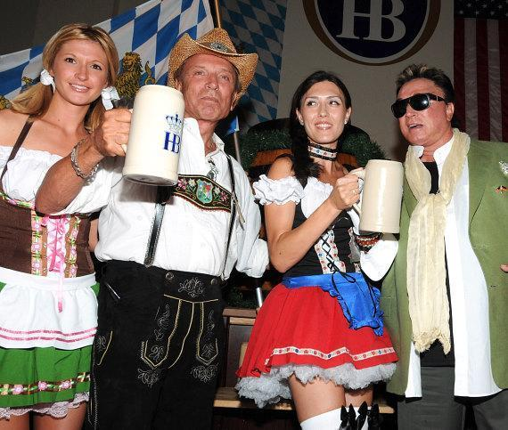 Siegfried & Roy kick off Oktobertfest at Hofbrauhaus Las Vegas