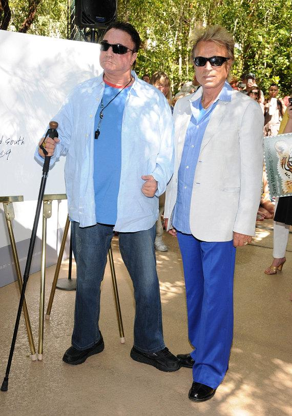 Siegfried & Roy arrive at their Secret Garden at The Mirage