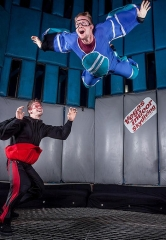 """Celebrate 35 years of flight in America with Vegas Indoor Skydiving's inaugural """"Tunnel Jam 2016"""" to benefit Three Square Food Bank"""