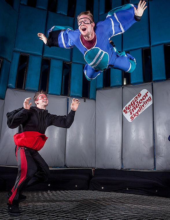 "Celebrate 35 years of flight in America with Vegas Indoor Skydiving's inaugural ""Tunnel Jam 2016"" to benefit Three Square Food Bank"