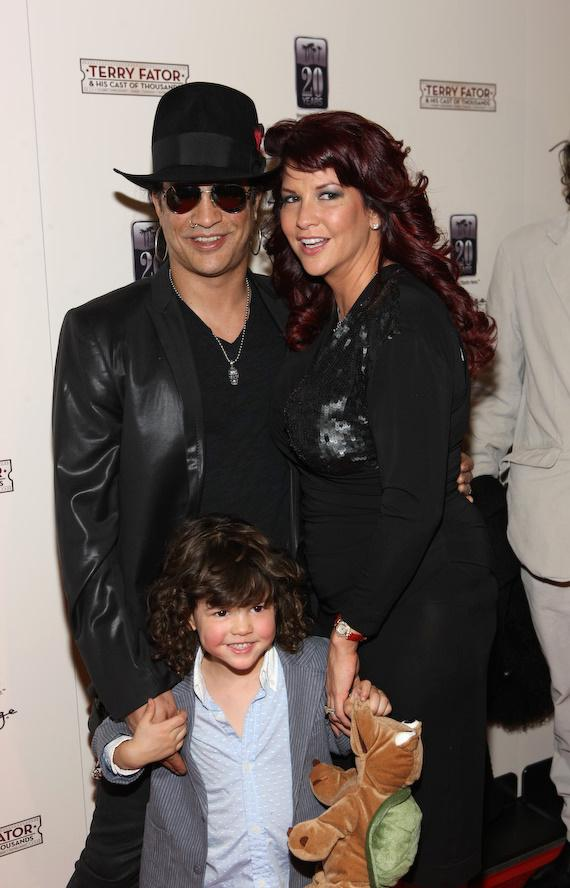 Slash and family