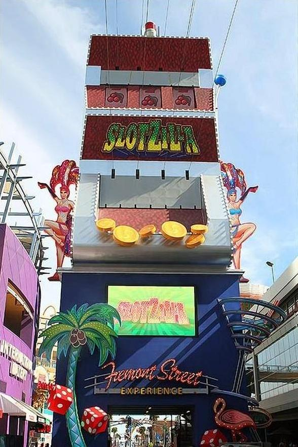 Fremont Street Experience Celebrates SlotZilla's One-Year Anniversary with Half Off All Flights August 31