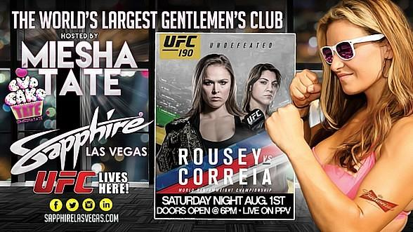 Miesha Tate hosts UFC 190: