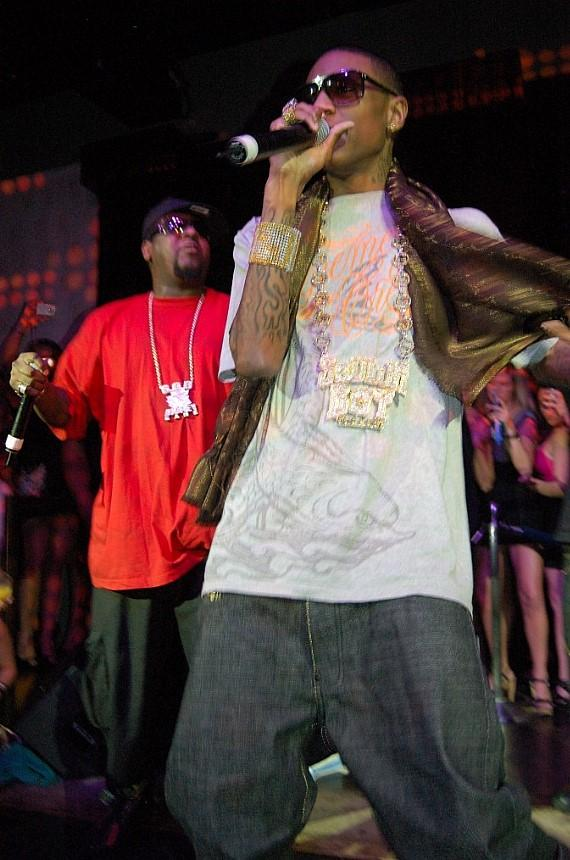 Soulja Boy Tell Em performs at JET Nightclub