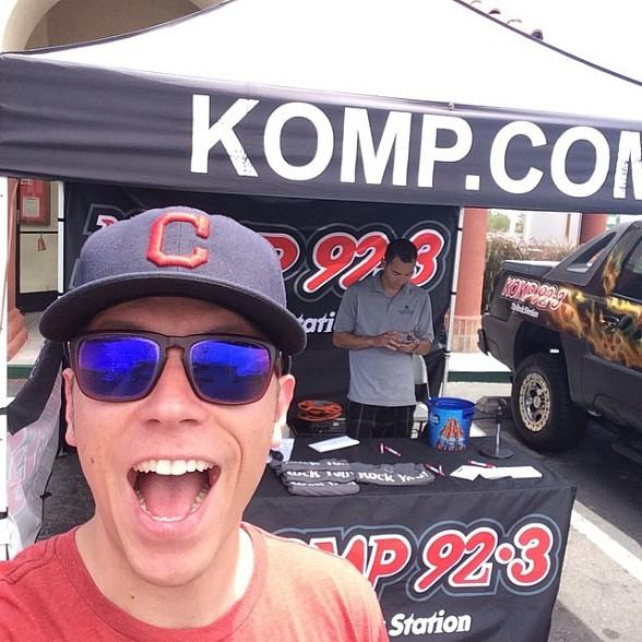 Sparks of KOMP92.3 to Throw Out the Ceremonial First Pitch for The Las Vegas 51s... in a Diaper