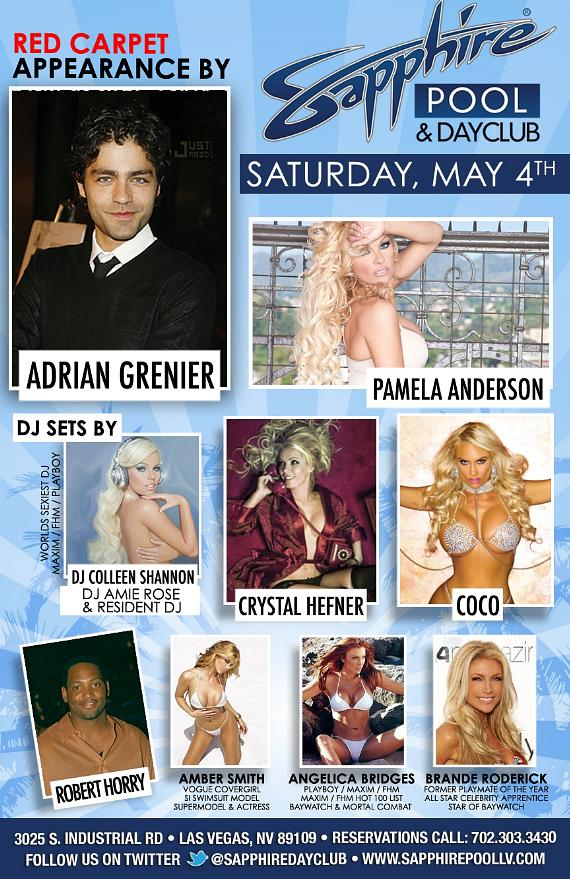 Sapphire Las Vegas - Saturday, May 4
