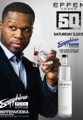 50 Cent's HUGE EFFEN PARTY at Sapphire Pool & Dayclub May 23