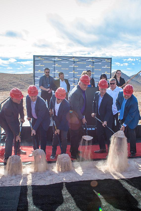 SpeedVegas groundbreaking